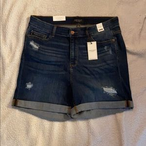 Judy Blue High Waist Medium Wash Jean Short